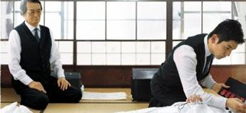 滝田洋二郎「おくりびと」