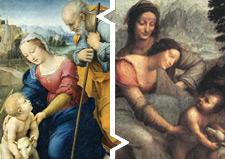 ラファエロ・サンティ「聖家族と子羊」の元ネタ