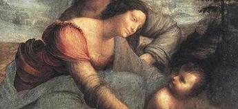 ダ・ヴィンチ「聖アンナと聖母子」