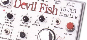 Roland Corporation「TB-303・Devilfish」